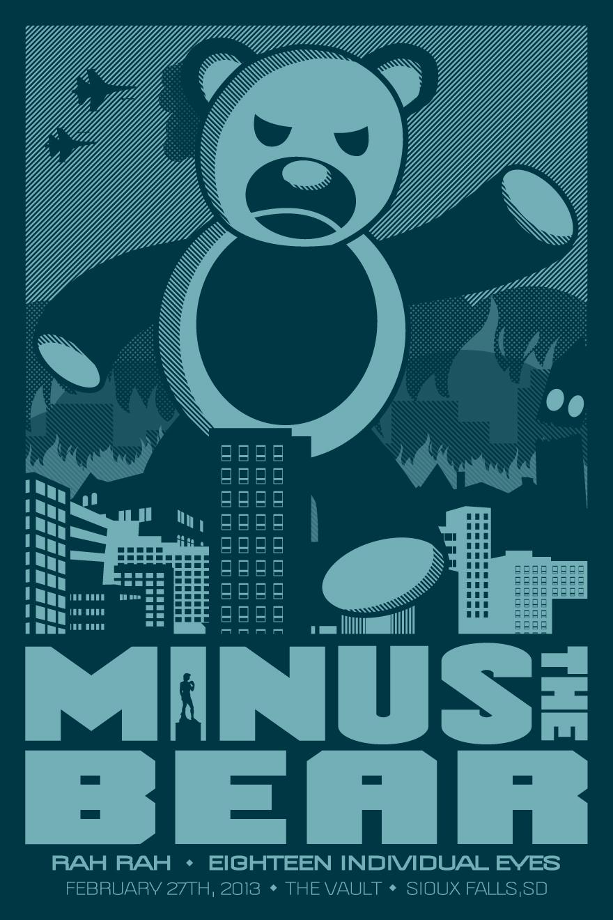 Minus The Bear Sioux Falls - image 1 - student project