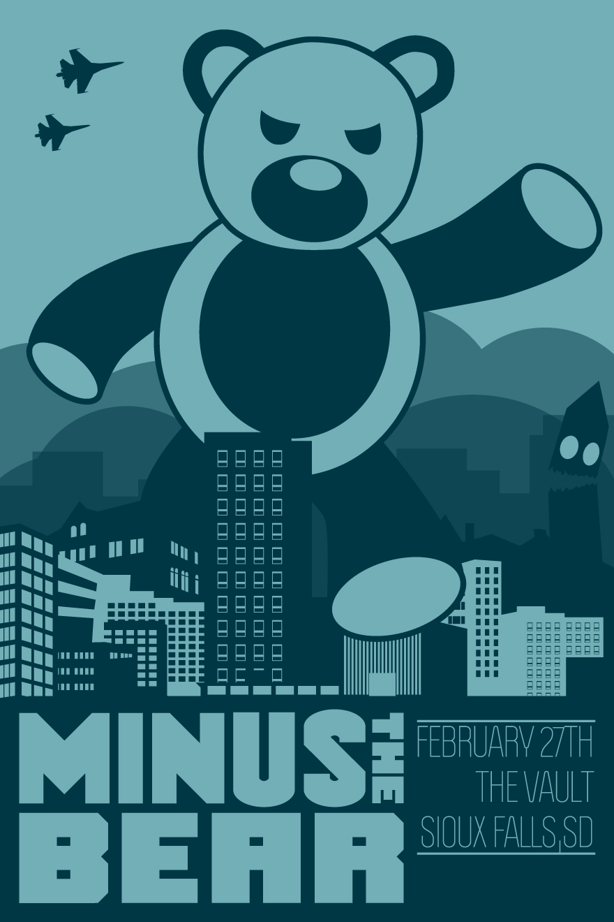 Minus The Bear Sioux Falls - image 2 - student project