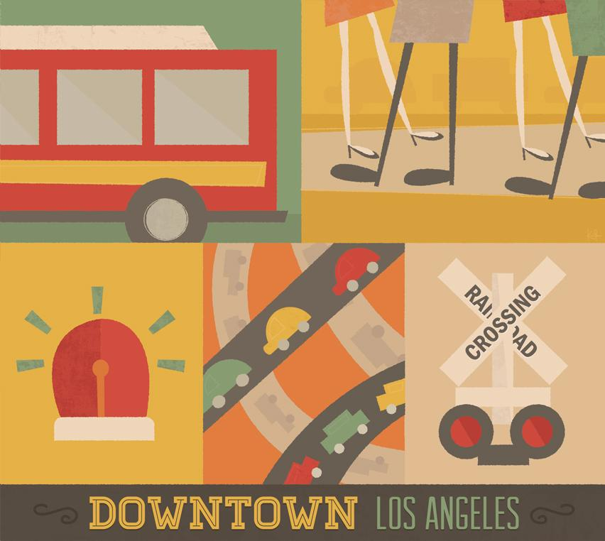 Updated! - Loud - Downtown Los Angeles - image 1 - student project