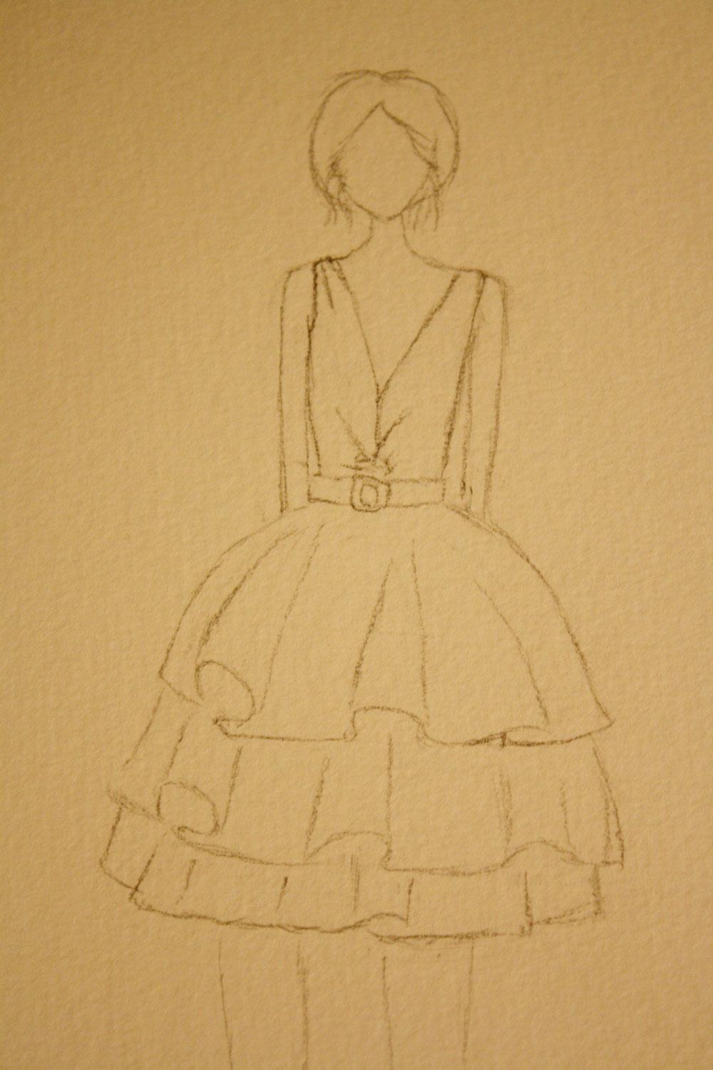 SKETCH - Detailed & Feminine - image 2 - student project