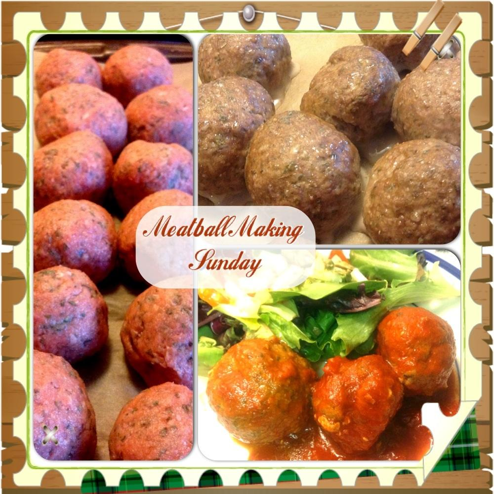 Snowy Sunday Meatball Making - image 1 - student project