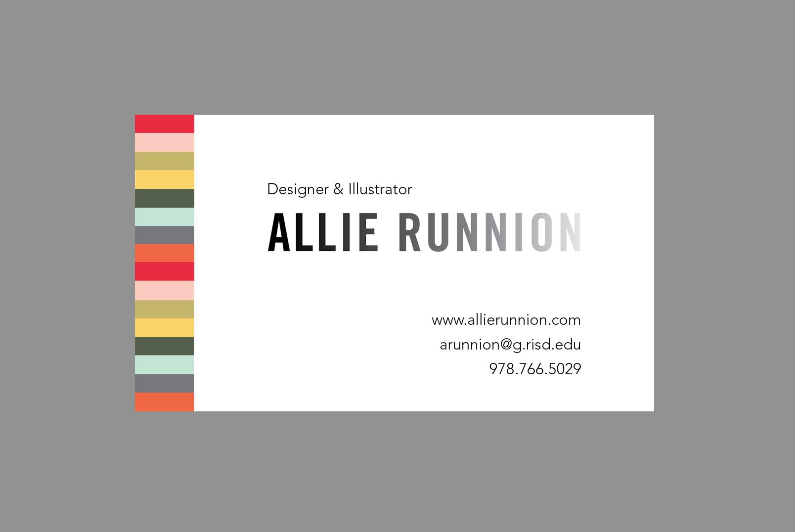Allie Runnion Design & Illustration - image 1 - student project