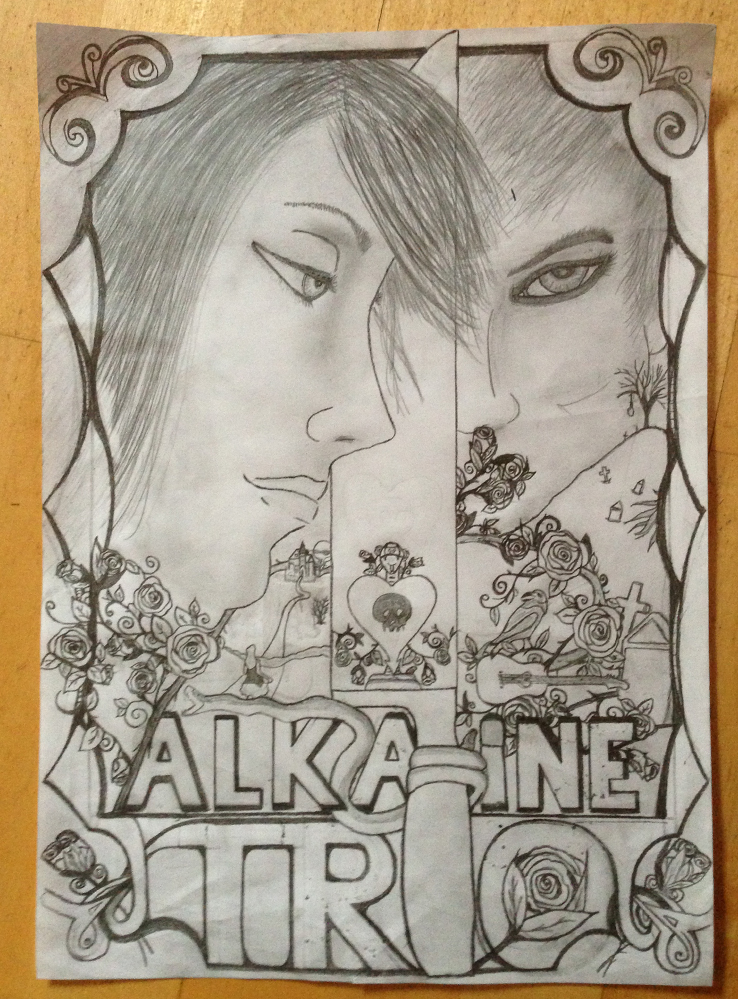 Alkaline Trio Anniversary Poster - image 1 - student project