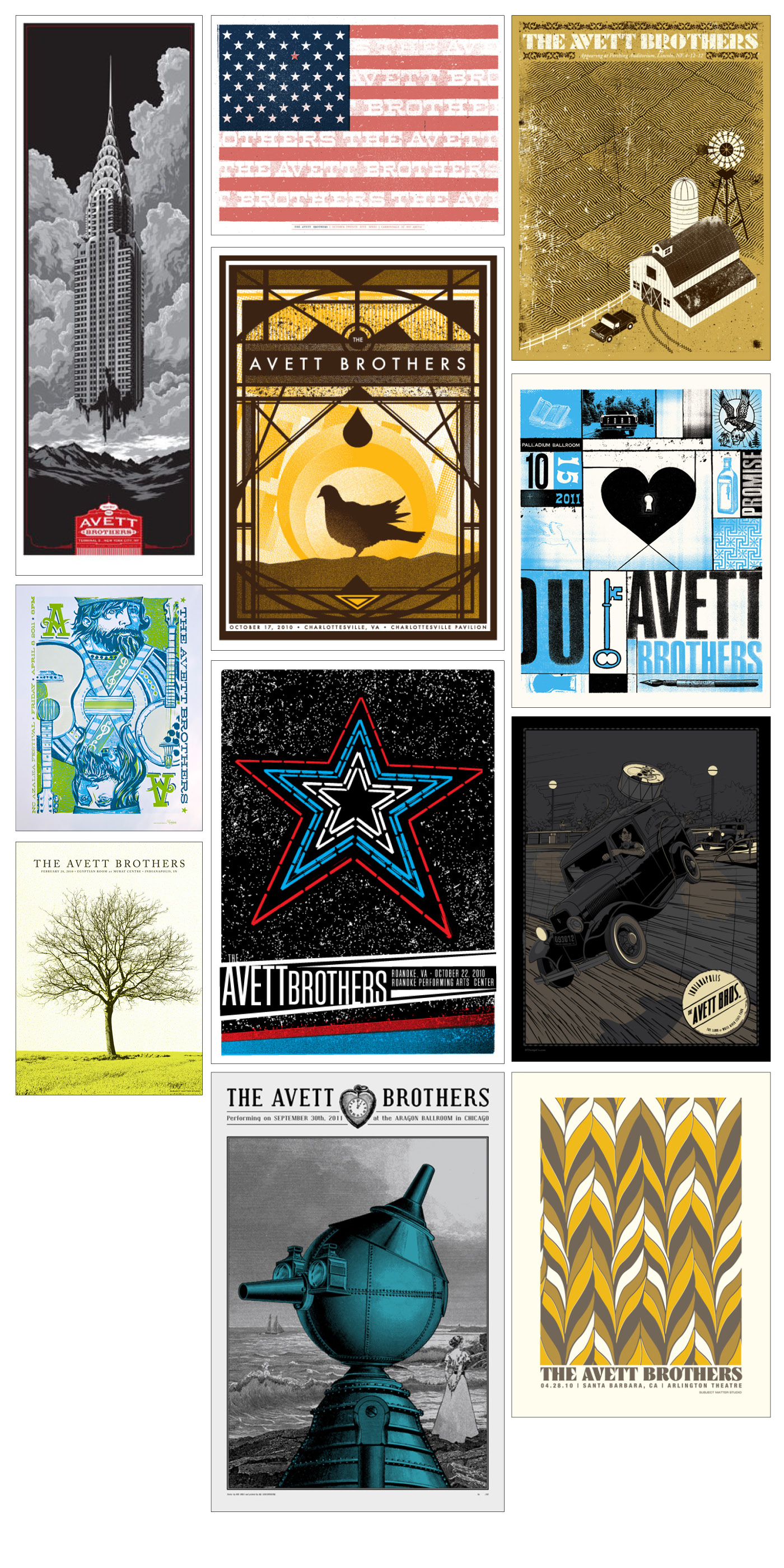 UPDATE 1: The Avett Brothers - 2013 Indianapolis Show - image 3 - student project