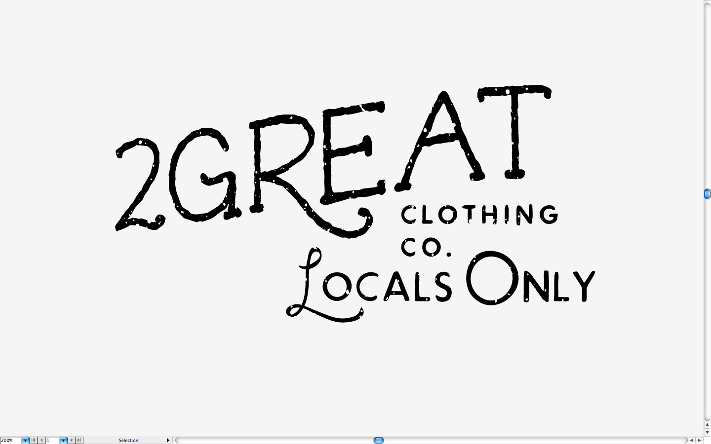 2Great Clothing Co. - image 6 - student project