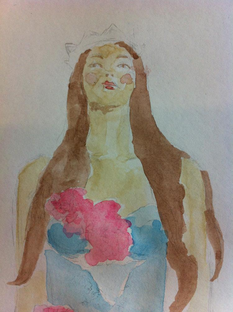 WATERCOLOUR Boho Chic / Delicate Creatures - image 2 - student project