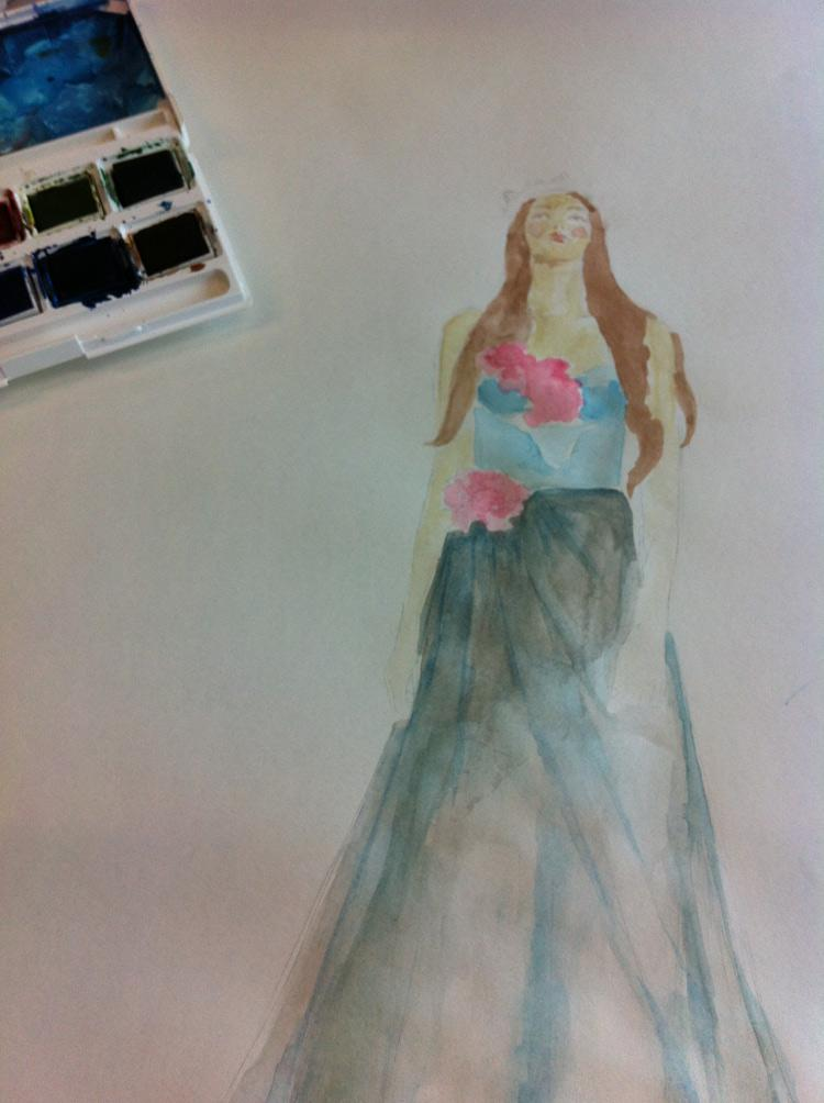 WATERCOLOUR Boho Chic / Delicate Creatures - image 3 - student project