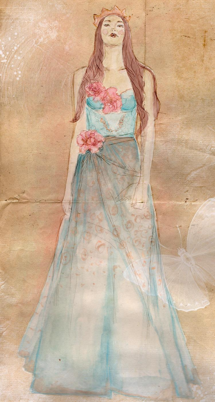 WATERCOLOUR Boho Chic / Delicate Creatures - image 1 - student project