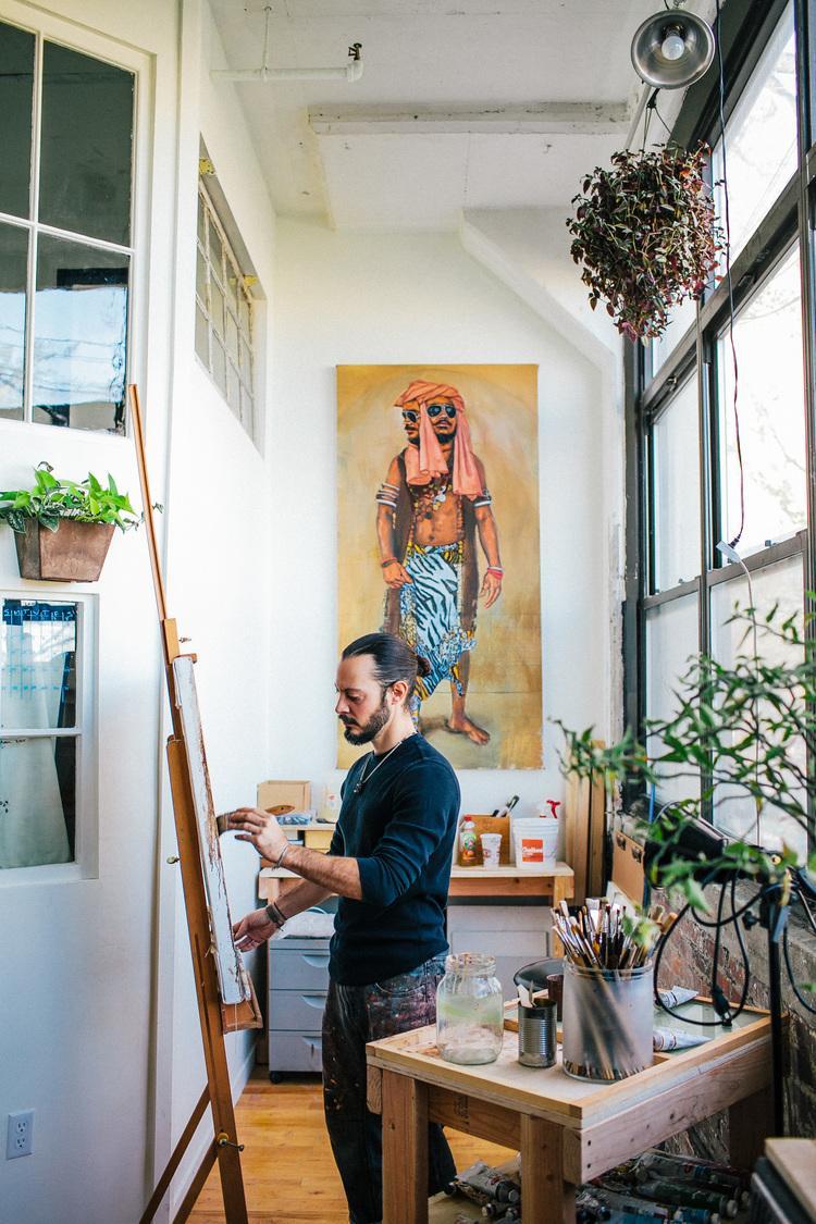 In Studio with Erik Maniscalco - image 7 - student project