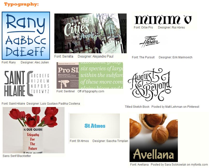 Mood Board (Starbucks) - image 5 - student project