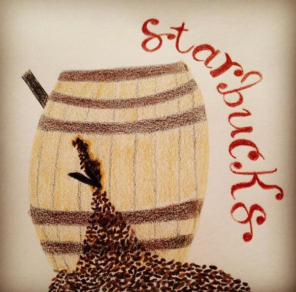 Mood Board (Starbucks) - image 3 - student project