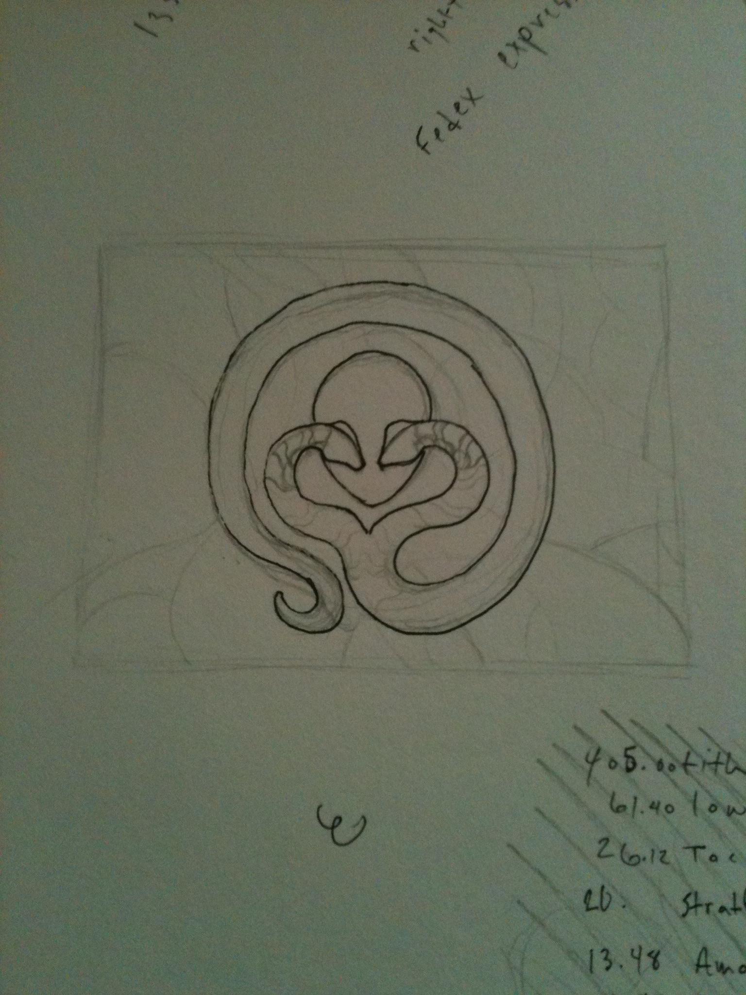 Khaos Explained Logos Design/ Progression - image 3 - student project