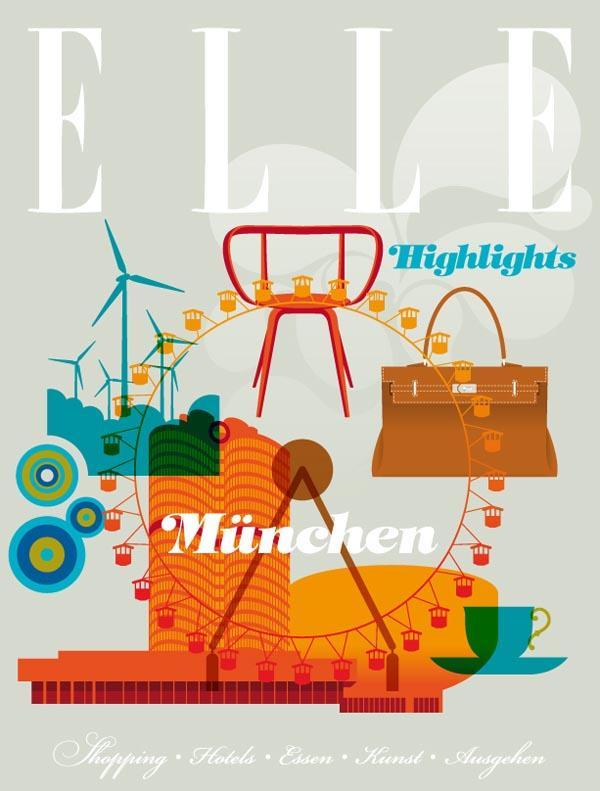 Retro Elle Cover - image 1 - student project