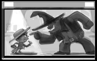 Sheriff the Kid vs Texas Red - image 22 - student project