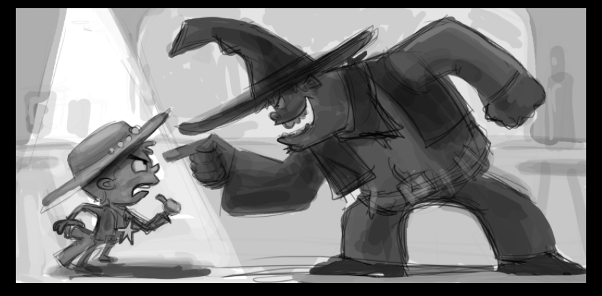 Sheriff the Kid vs Texas Red - image 30 - student project