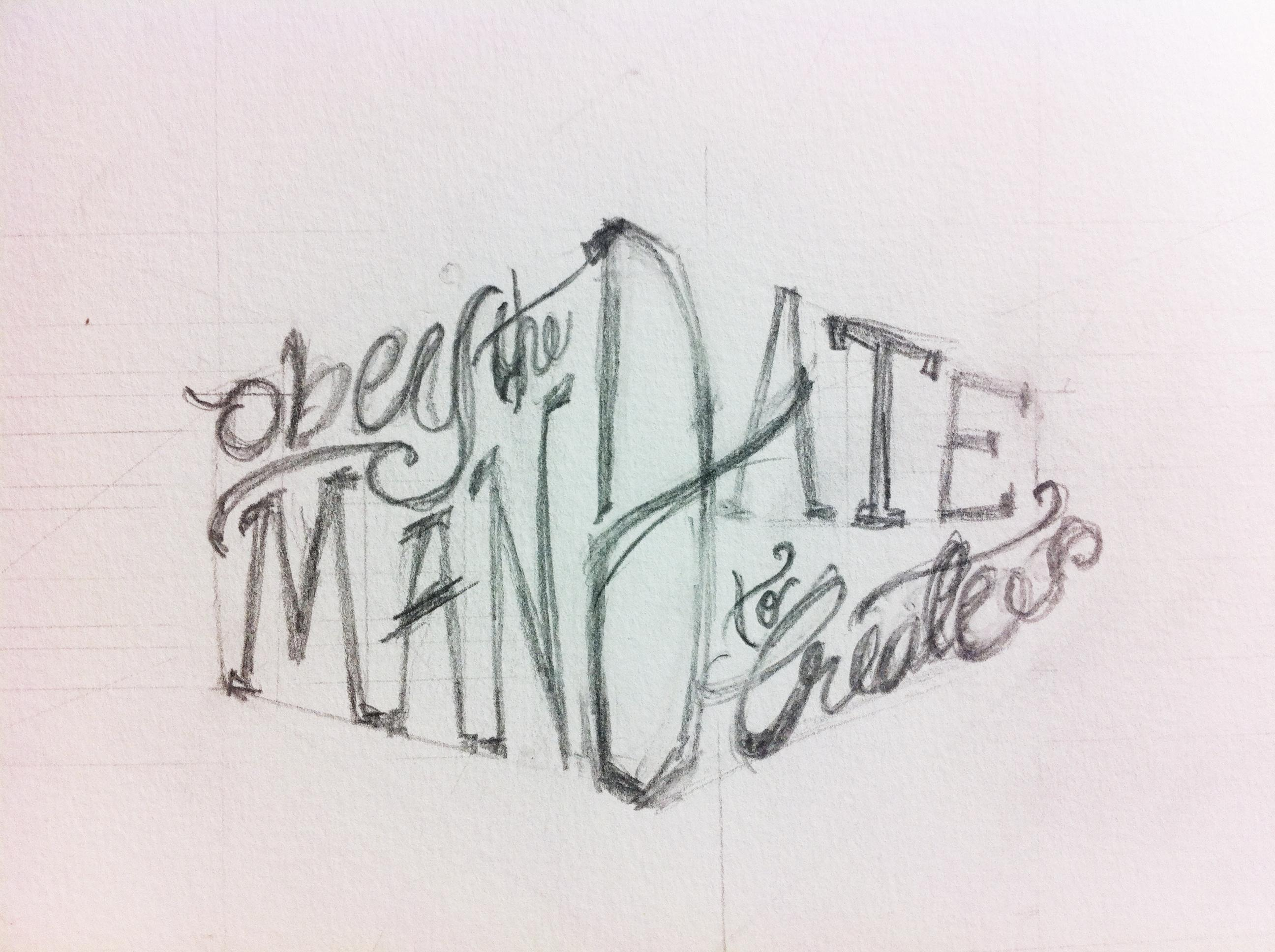 Obey the Mandate to Create - image 1 - student project