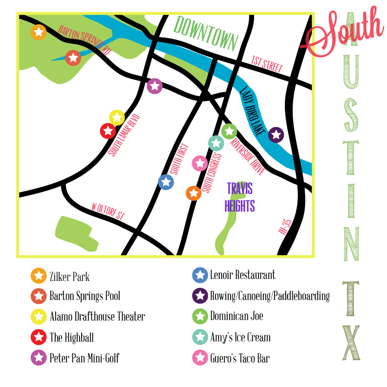 My Austin, TX Maps - image 3 - student project