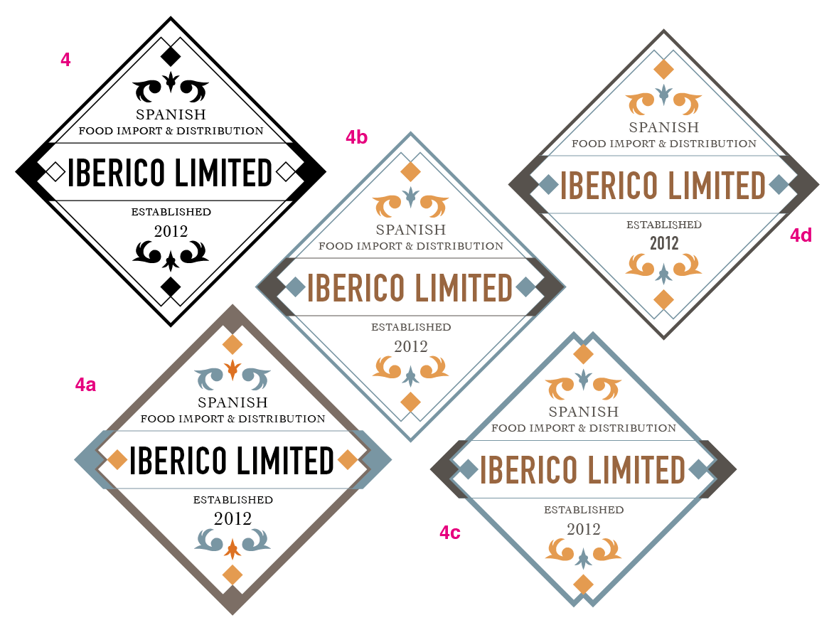 Logo for Iberico Limited - image 11 - student project