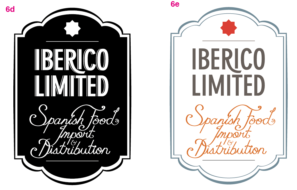 Logo for Iberico Limited - image 17 - student project