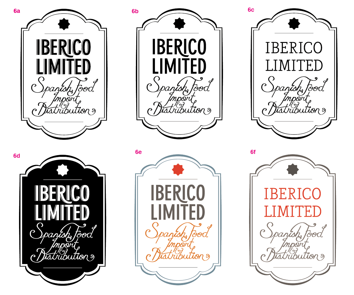 Logo for Iberico Limited - image 12 - student project