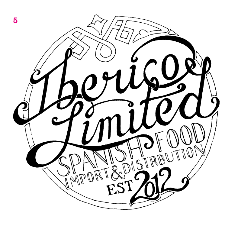 Logo for Iberico Limited - image 14 - student project