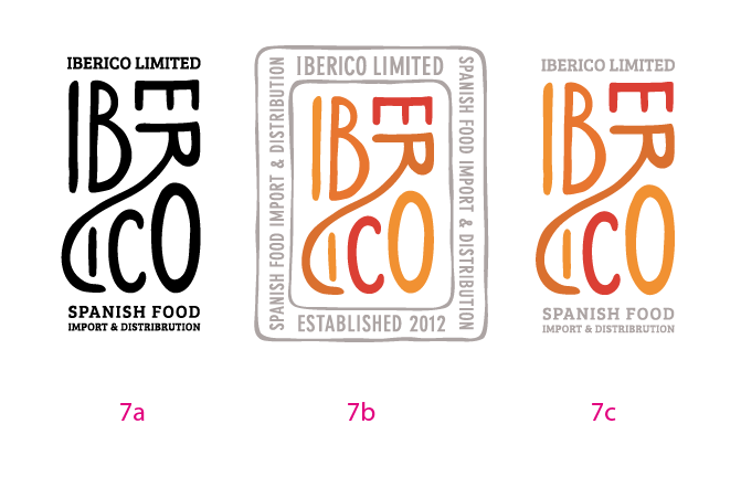 Logo for Iberico Limited - image 16 - student project