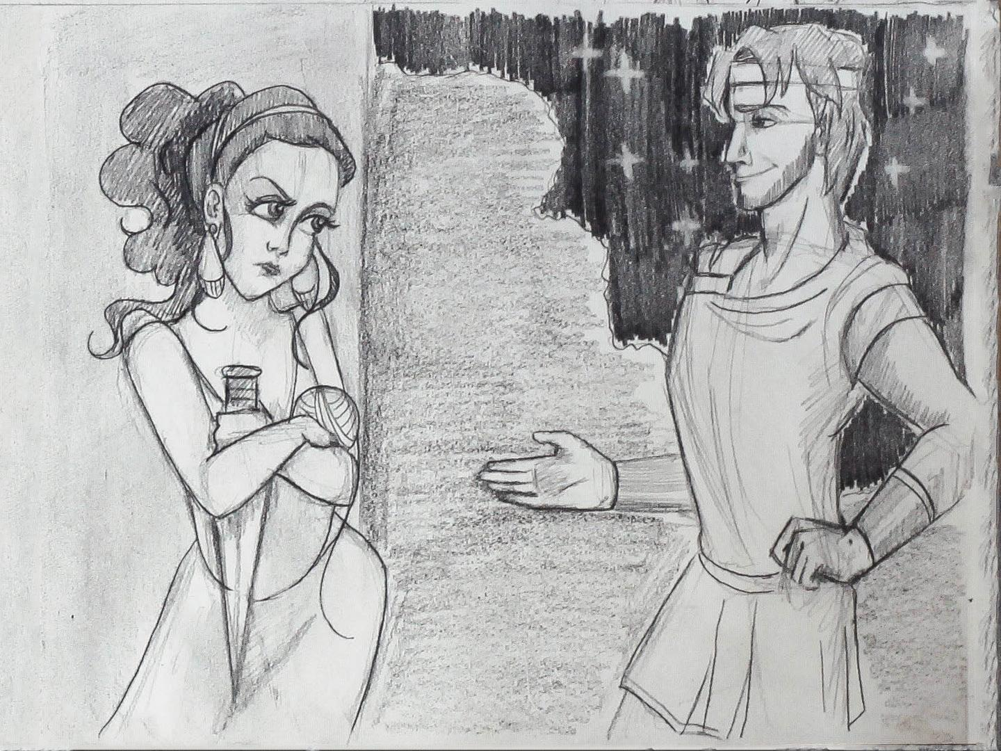 Project #2: Ariadne Helps Theseus - image 10 - student project