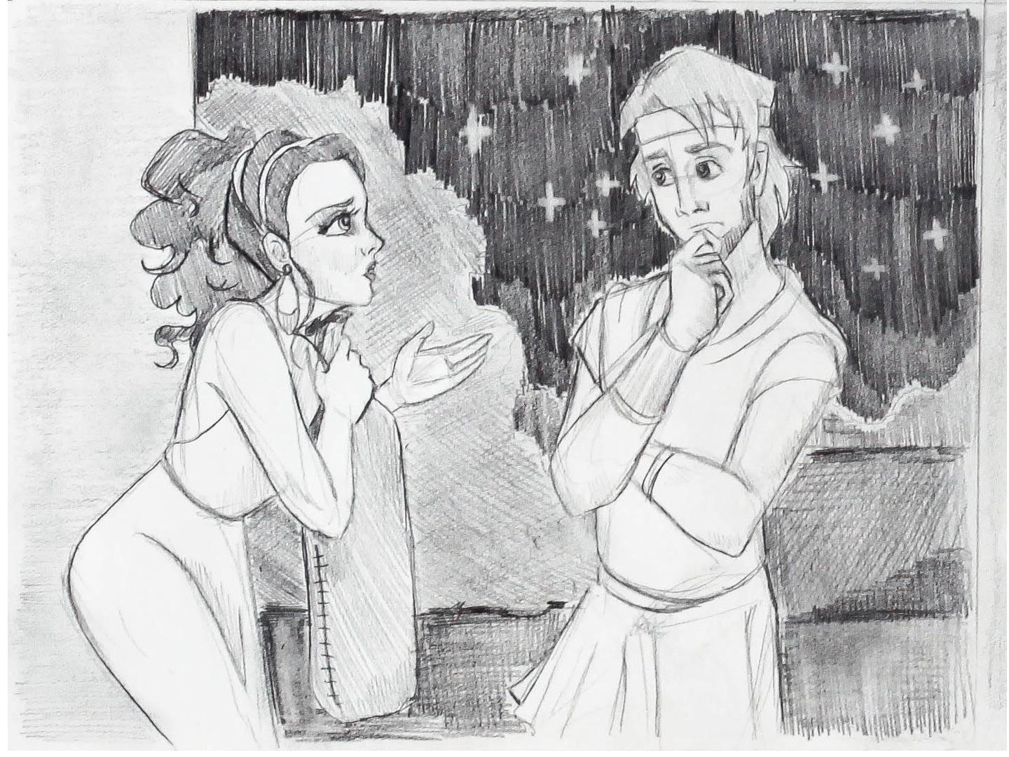 Project #2: Ariadne Helps Theseus - image 3 - student project