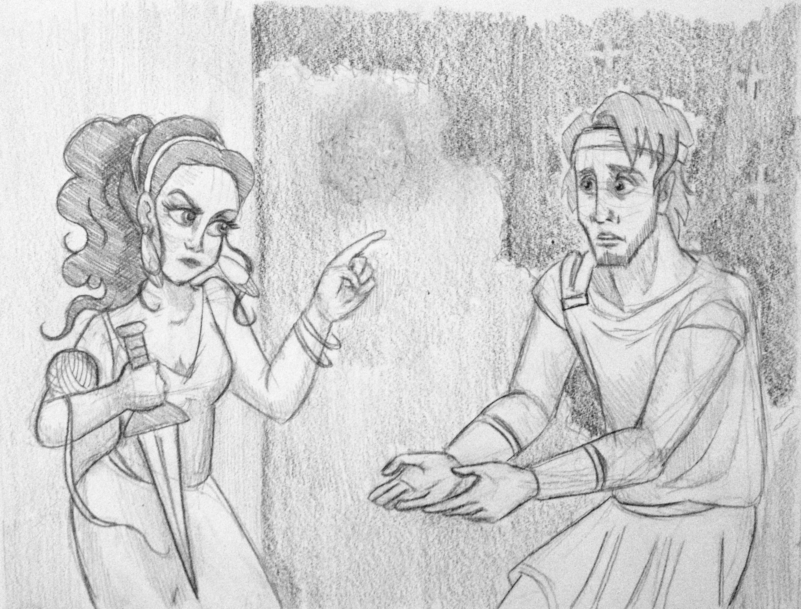 Project #2: Ariadne Helps Theseus - image 7 - student project