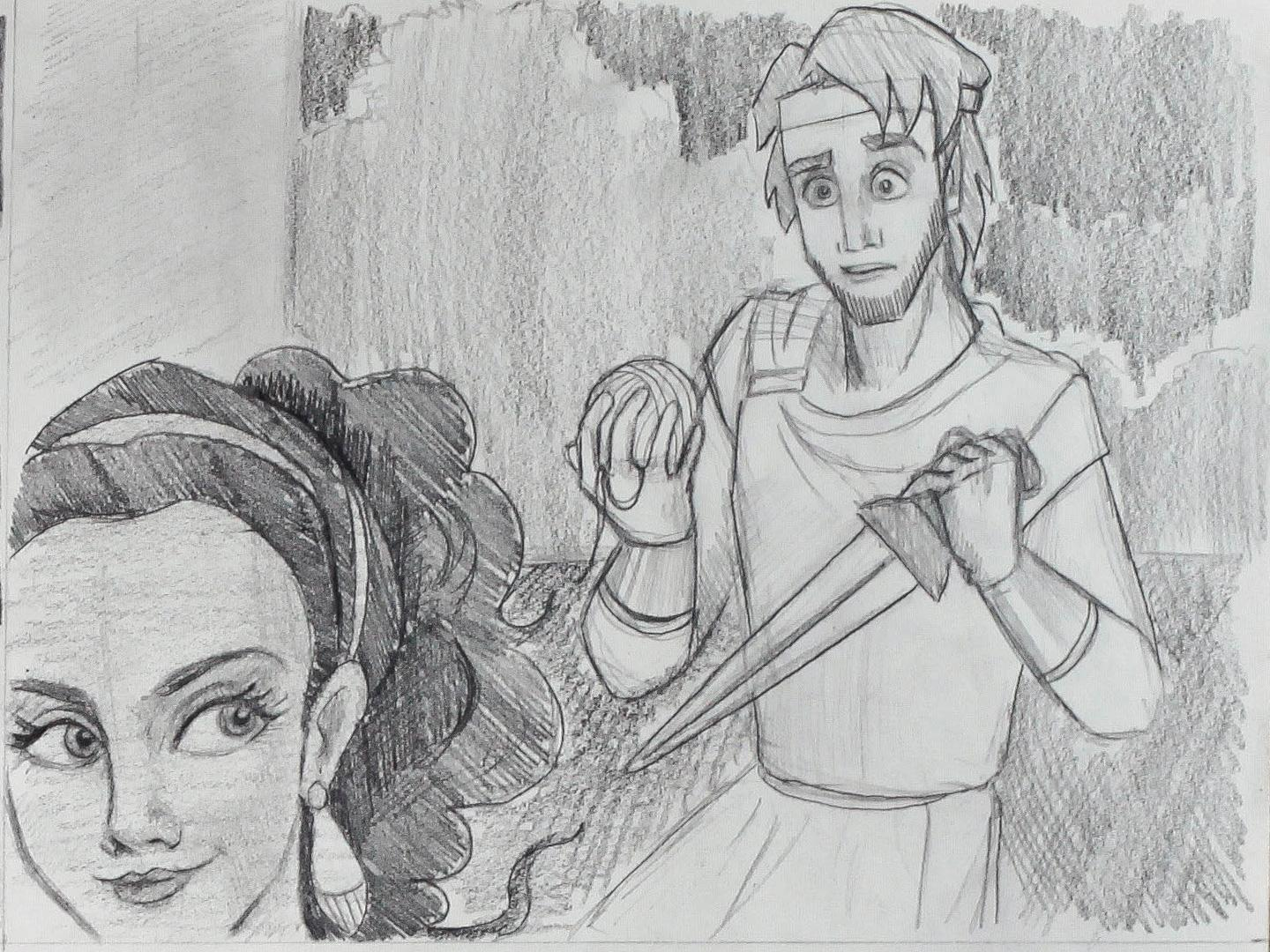 Project #2: Ariadne Helps Theseus - image 12 - student project