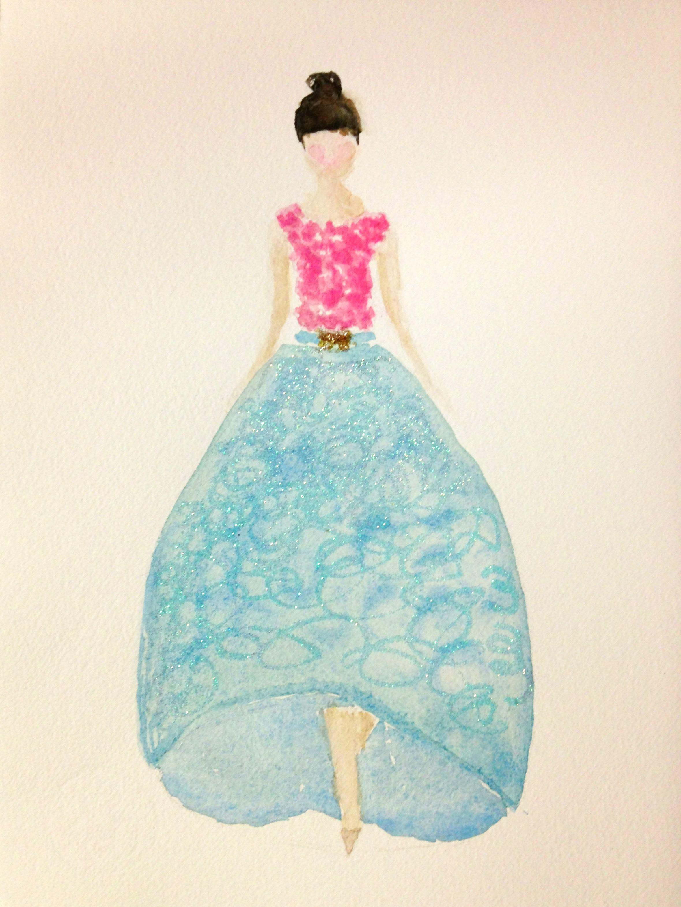 EMBELLISHMENT: My favorite color is shiny - image 1 - student project
