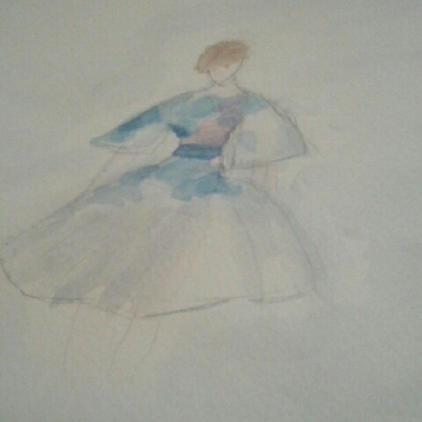 WATERCOLOUR: PAPERfashion - image 1 - student project
