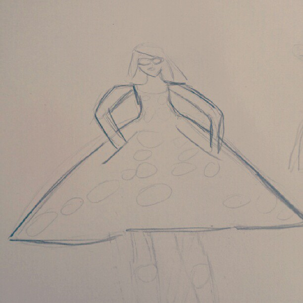 WATERCOLOUR: PAPERfashion - image 10 - student project