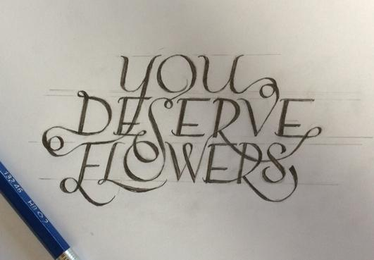 You Deserve Flowers - image 6 - student project