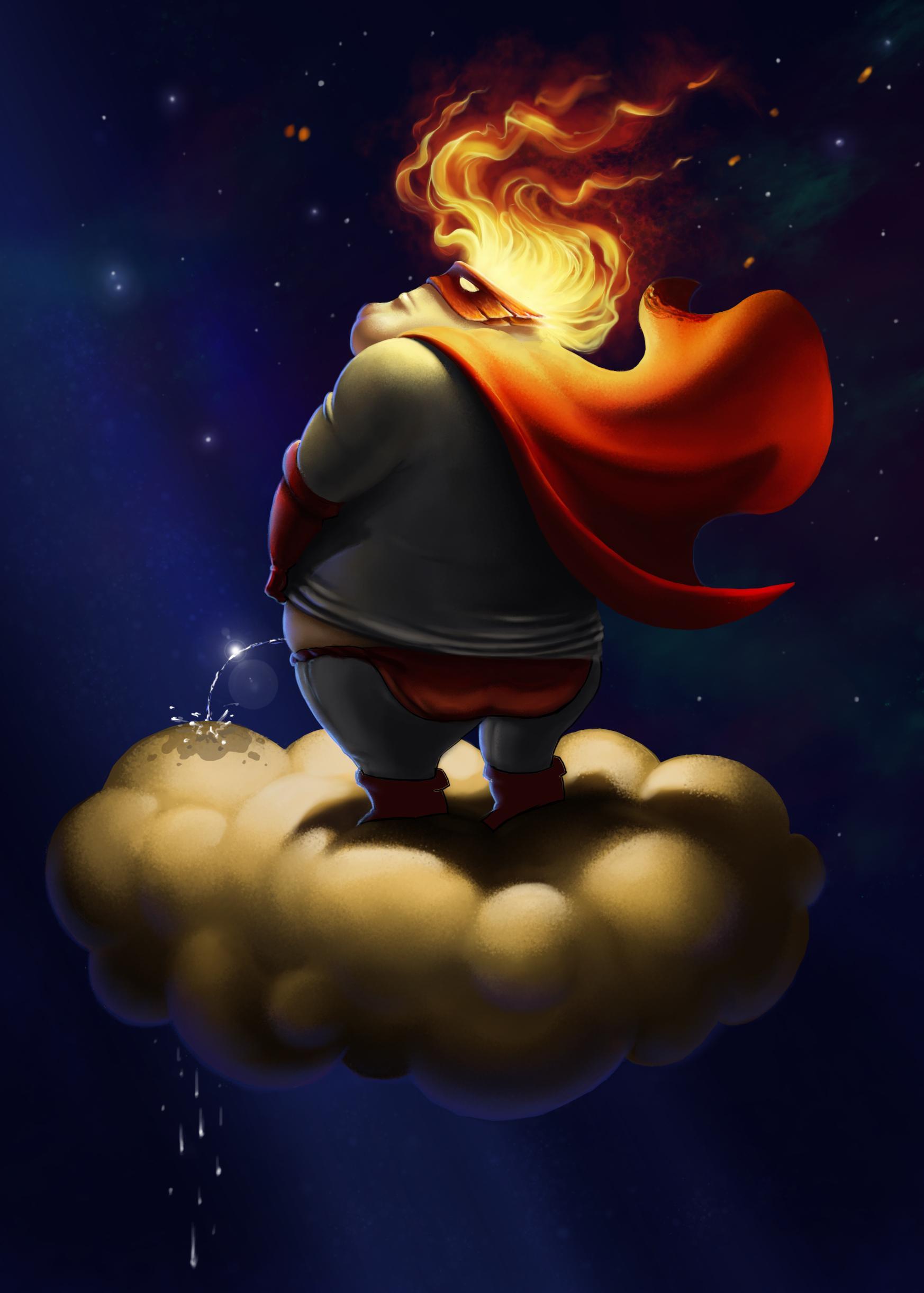 Evil Super hero - image 2 - student project
