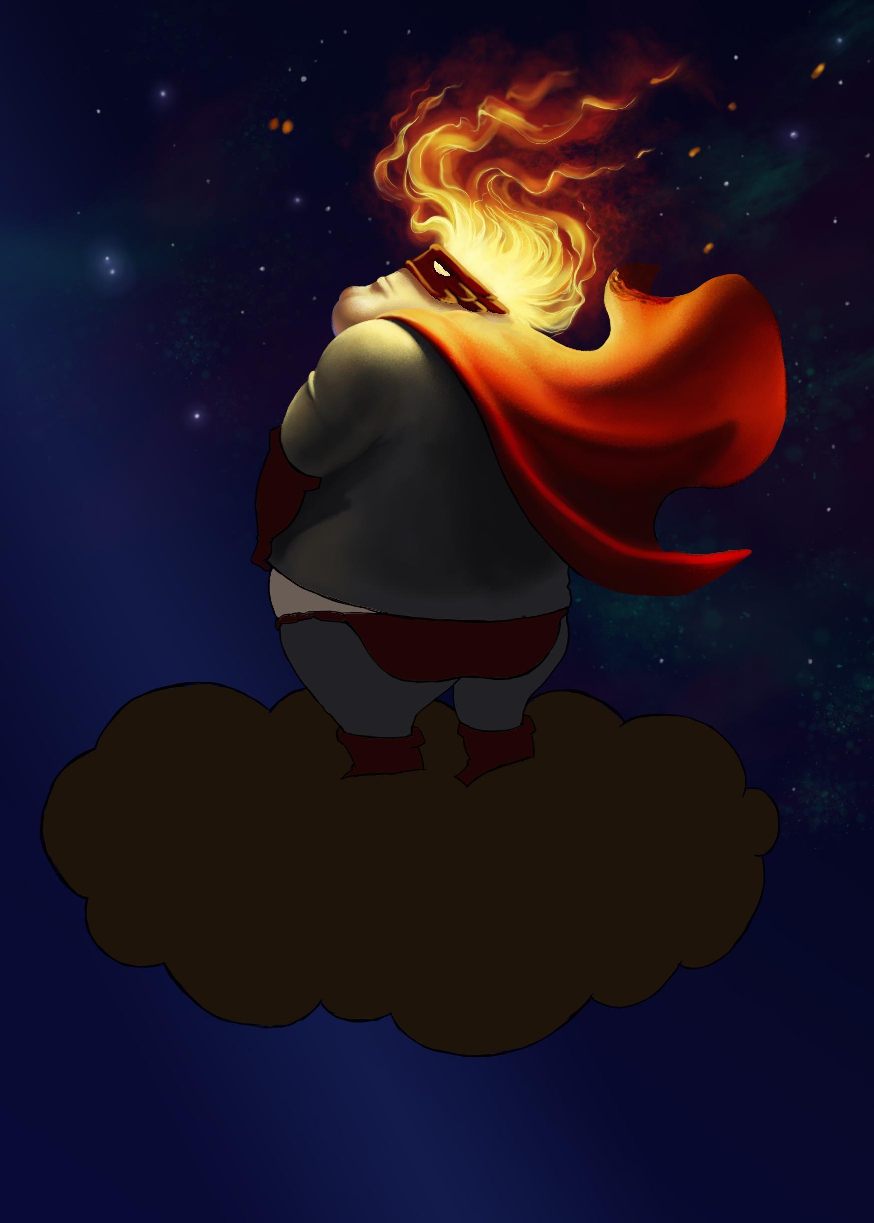 Evil Super hero - image 3 - student project