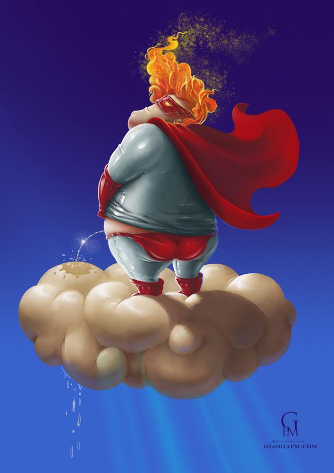 Evil Super hero - image 10 - student project