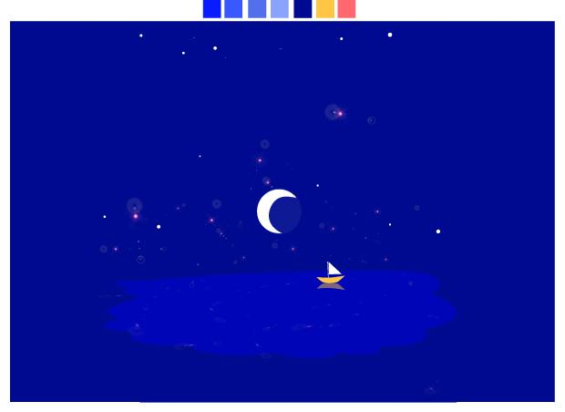 Quiet - Still Waters - Starry Night - image 2 - student project