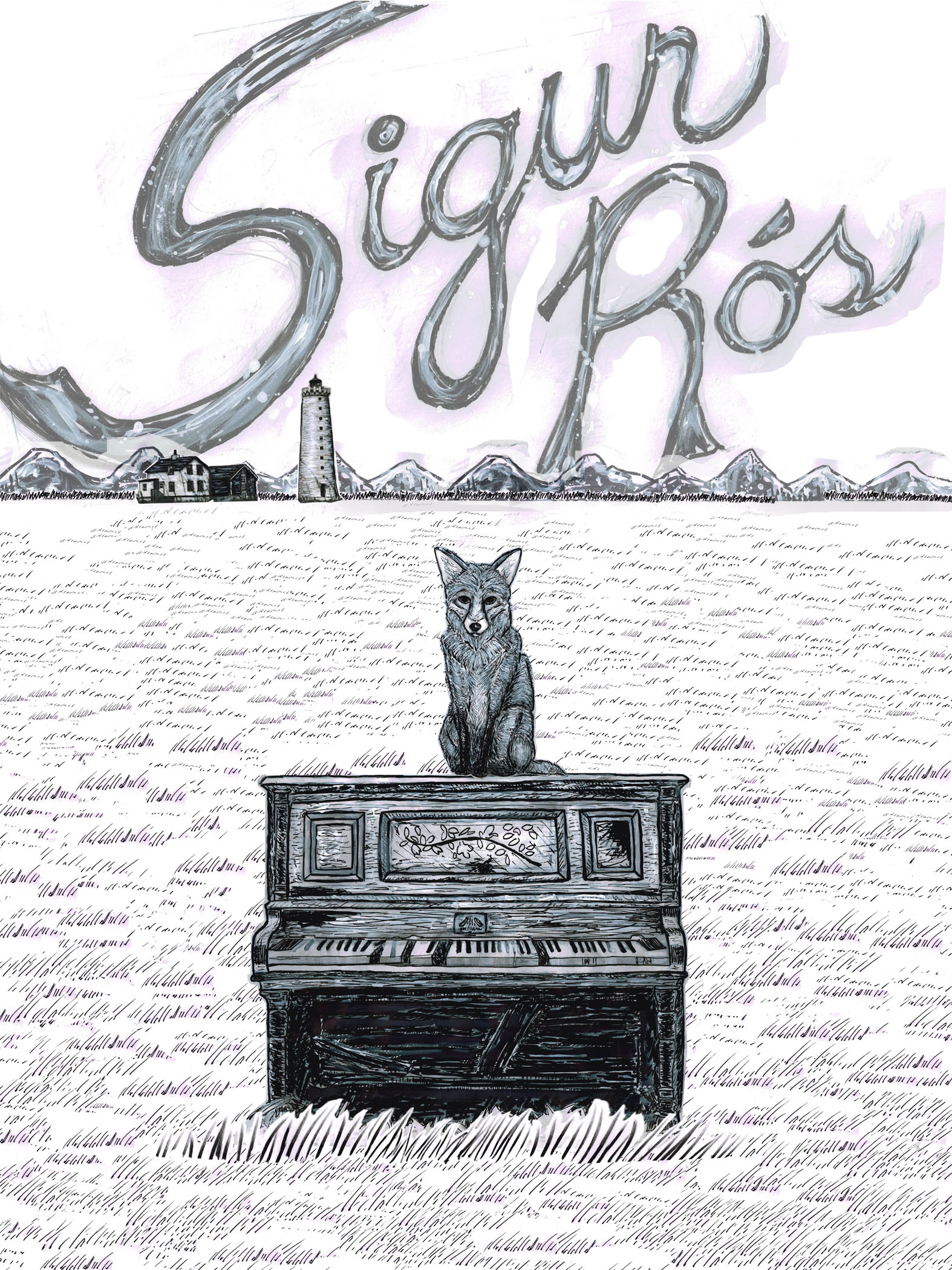 Sigur Ros Gig Poster  - image 10 - student project