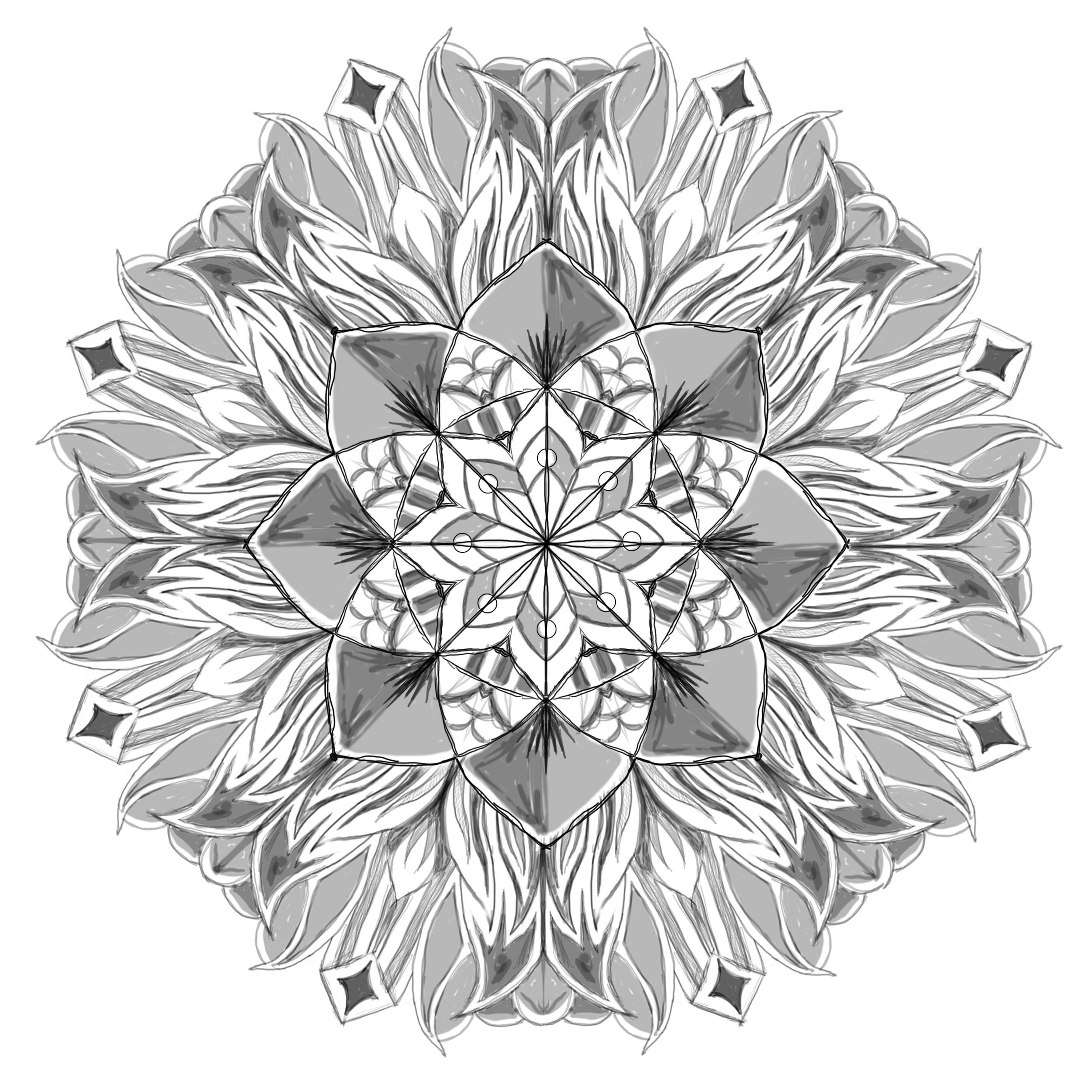 Ed Perez Mandala - image 1 - student project