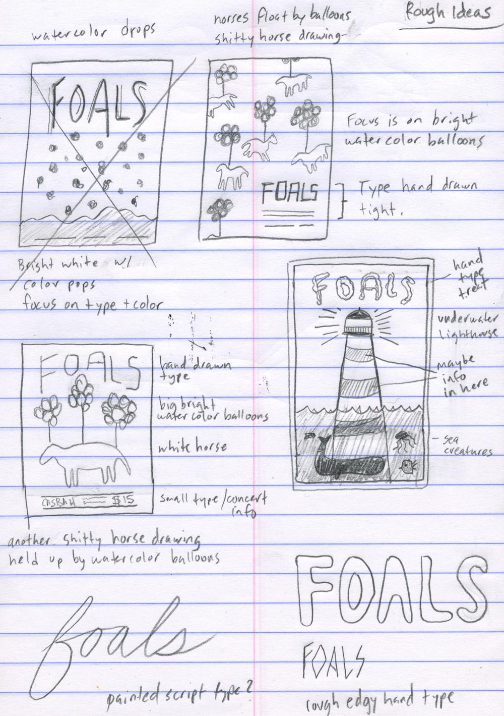 FOALS - HOLY FIRE - image 2 - student project