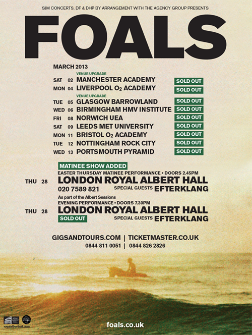 FOALS - HOLY FIRE - image 7 - student project