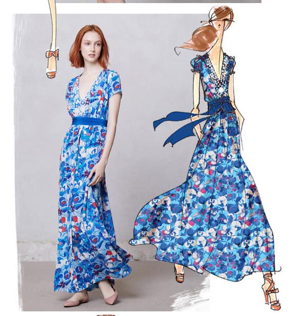 AshAli - Fashion Illustration 2013 - image 2 - student project
