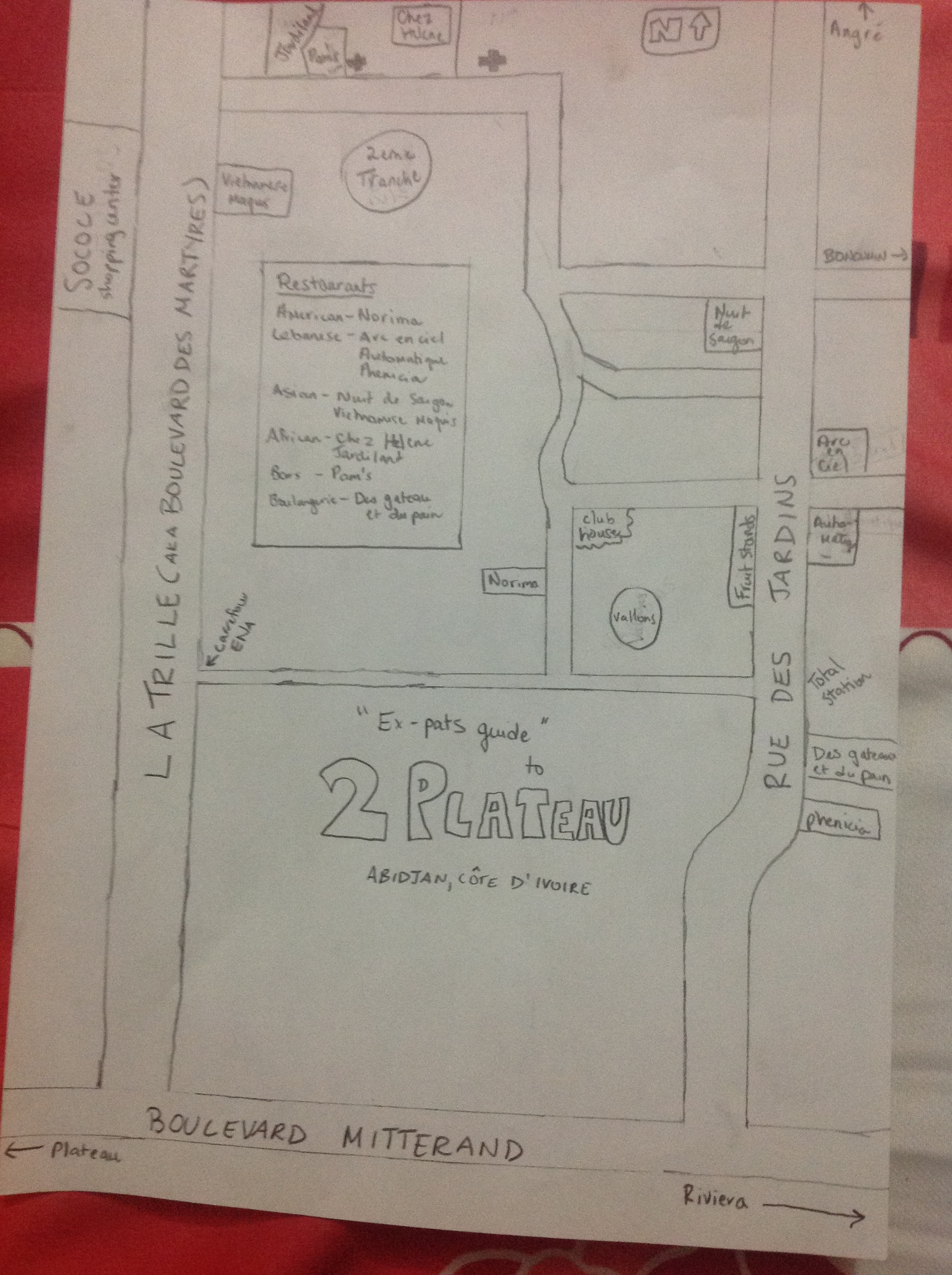 Ex-Pat guide to Abidjan - image 1 - student project