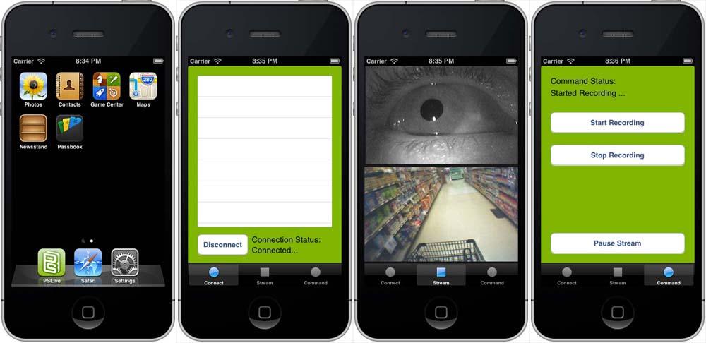 PSLive.app - image 1 - student project