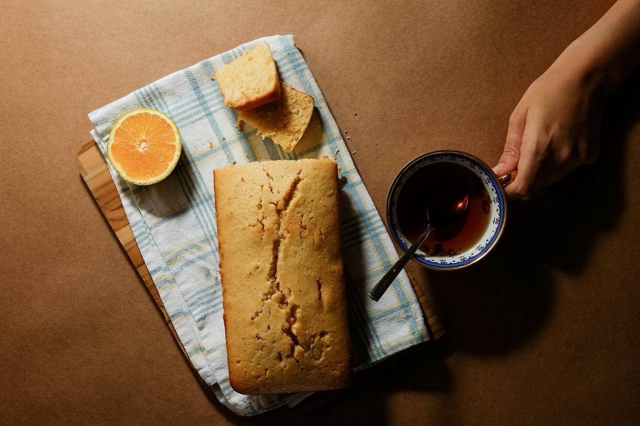 Mugs, Flowers & Orange Cake - image 3 - student project