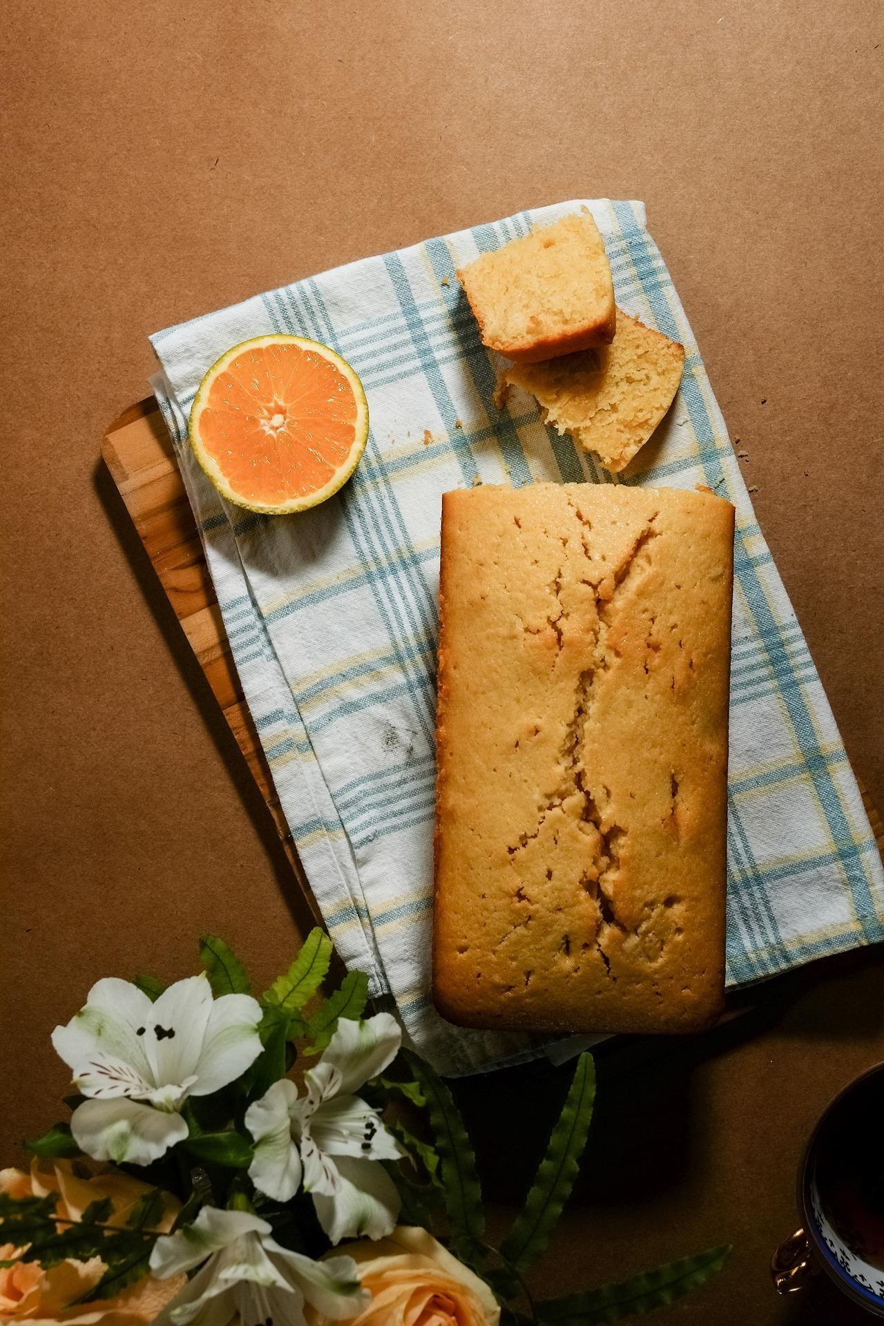Mugs, Flowers & Orange Cake - image 5 - student project