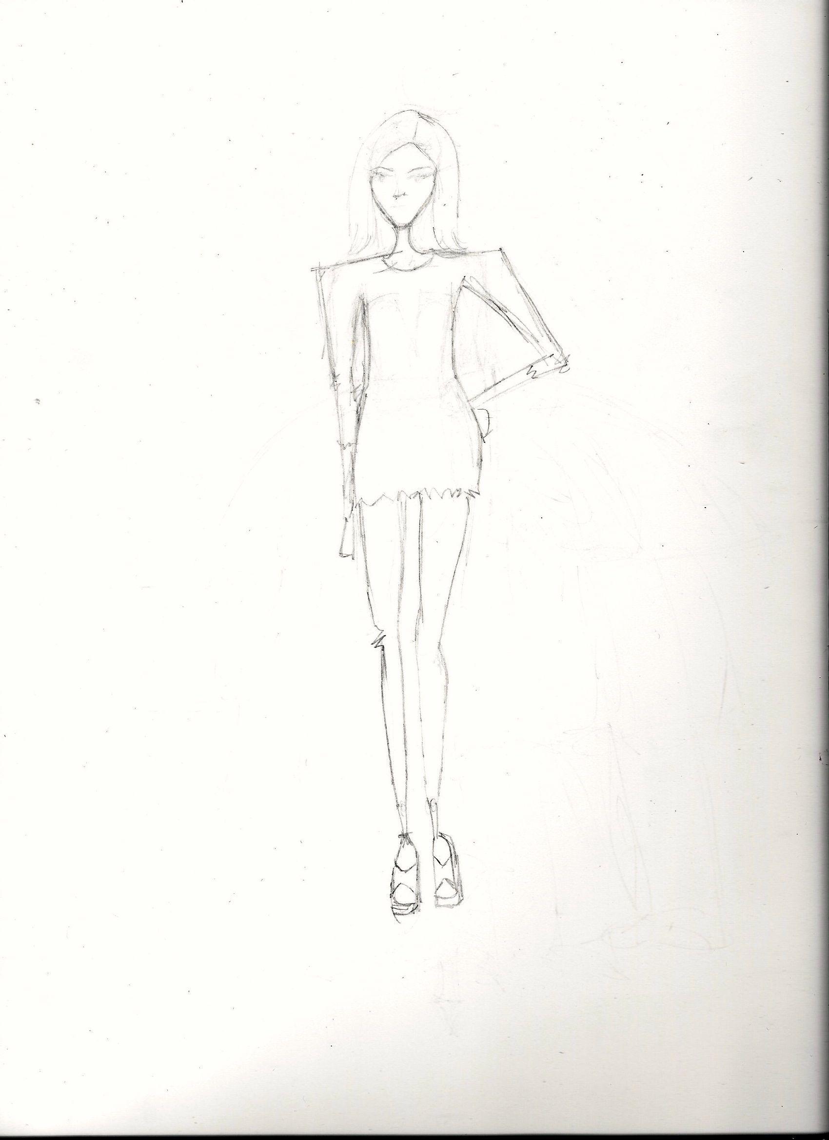 FINAL embellishment/watercolor Melissa Nadine fashion illustration - image 11 - student project