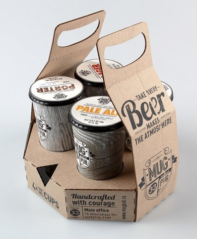 Craft Beer Labeling: Ursa Major   - image 3 - student project