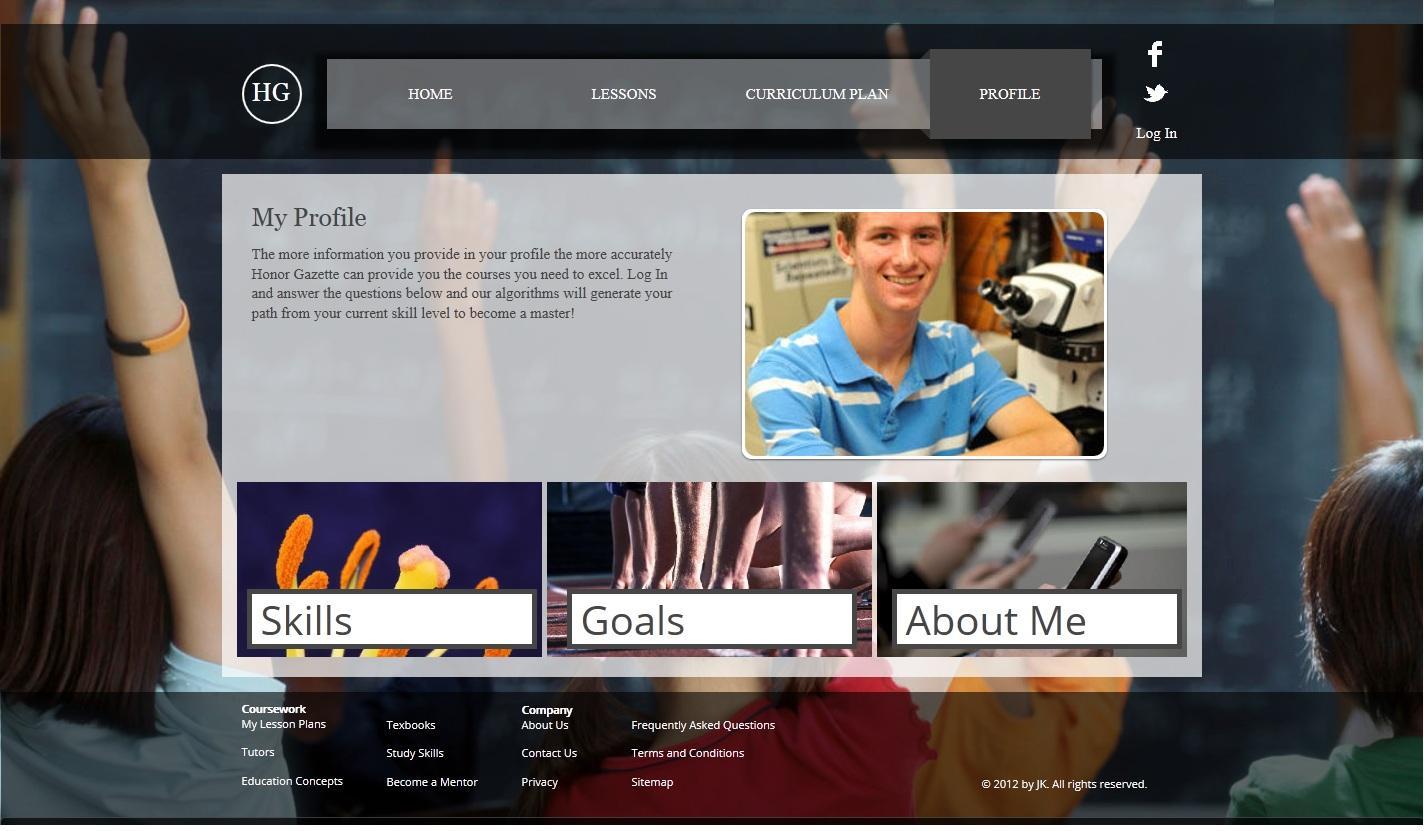 Honor Gazette - image 3 - student project